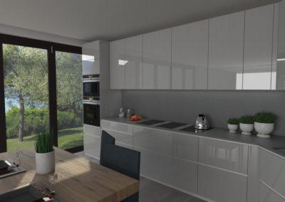 Cucina Valcucine- ARTEMATICA in vetro tattile